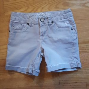 Girl Size 10R Gray Justice Shorts